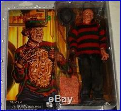 NECA Nightmare Elm Street pt3 FREDDY KRUEGER retro DREAM WARRIORS action figure