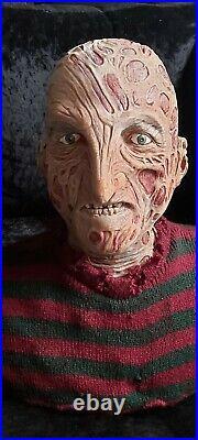 NECA Nightmare on Elm Street Freddy Krueger Life size Talking Horror Bust