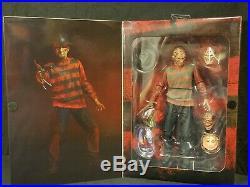 NECA Nightmare on Elm Street Ultimate Freddy Krueger 7 Robert Englund Autograph