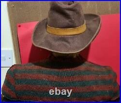 NECA Reel Toys Nightmare on Elm Street Freddy Krueger Lifesize Talking Bust RARE