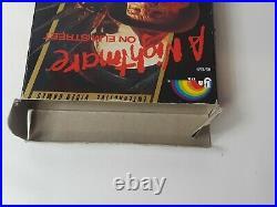 NES A Nightmare On Elm Street 1989 Bix Plus Manual Nintendo Freddys Coming