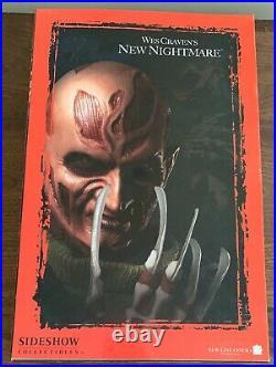 NEW FREDDY KRUEGER Sideshow Rare 12 New Nightmare Figure Elm Street 2004