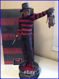 NIGHTMARE On Elm Street Freddy Krueger Premium Format Figure 1/4 Statue Sideshow