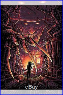 NYCC 2019 Nightmare on Elm Street Freddy Dan Mumford Poster Print 18x24 Mondo