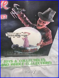 Neca 2003 Horror Globe A Nightmare On Elm Street Extremely Rare In Box WOW