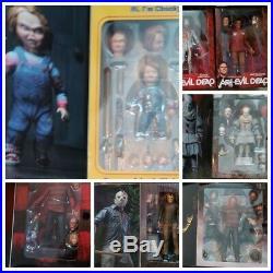 Neca Horror Lot Neca Pennywise- Nightmare On Elm Street- Neca Chucky & More
