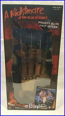 Neca Reel Toys A Nightmare On Elm Street Freddy's Glove Prop Replica Sealed Nib
