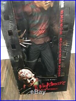 New McFarlane Freddy Krueger Movie Maniacs 18Figure 2000Nightmare on Elm Street