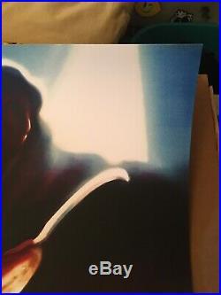 New Nightmare On Elm Street Wes Craven Print 24x36 NT Mondo Theodora Capat Mint