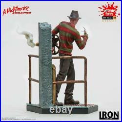 Nightmare Elm Street Art Scale Statue 1/10 Freddy Krueger Deluxe 19cm Iron Studi