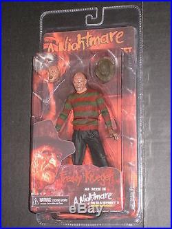Nightmare Elm Street Freddy Krueger Series 1-4 Figures Neca England Sdcc Furnace