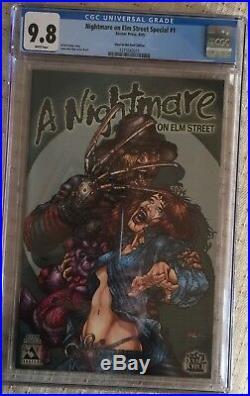 Nightmare On Elm Street #1 Glow In The Dark Edition CGC 9.8