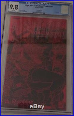 Nightmare On Elm Street #1 Leather Red Foil Edition CGC 9.8