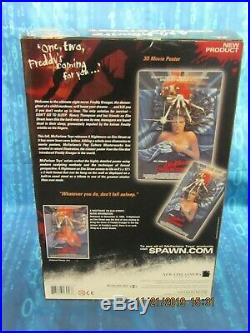 Nightmare On Elm Street 3-d Poster, Mcfarlane Picture Box New In Factory Sealed