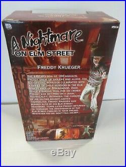 Nightmare On Elm Street Freddy Krueger Deluxe 18 NECA with Alternate Demon Head
