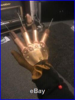 Nightmare On Elm Street Freddy Krueger Metal Prop Glove Fancy Dress