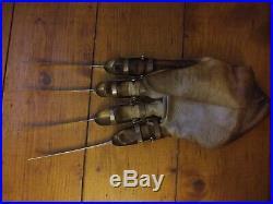 Nightmare On Elm Street Freddy Krueger Prop Glove