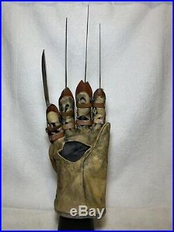 Nightmare On Elm Street Freddys Dead Glove Replica