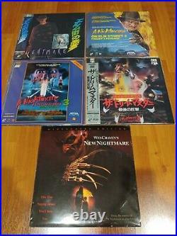 Nightmare On Elm Street Laserdisc Lot