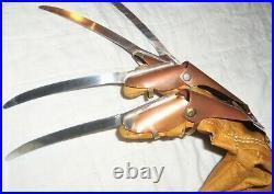 Nightmare On Elm Street Part 2 Freddy Krueger Metal Glove Replica