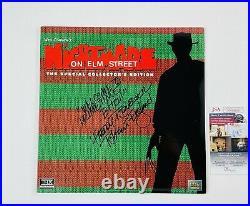 Nightmare On Elm Street Signed Laserdisc Robert Englund Collector's Edition JSA
