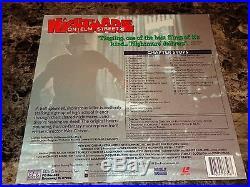 Nightmare On Elm Street Signed Laserdisc with Quotes! Horror Movie Freddy Krueger