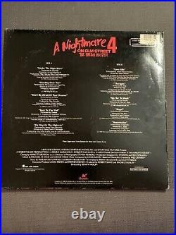 Nightmare on Elm Street 2 4 Soundtrack LP Record 33RPM