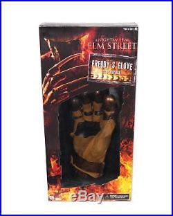 Nightmare on Elm Street 2010 movie Freddy Krueger Glove claws Prop Replica NECA