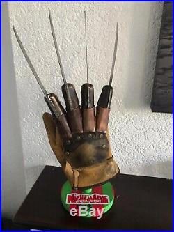 Nightmare on Elm Street 3 dream warriors Freddy Krueger prop glove