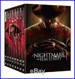 Nightmare on Elm Street, A- Tei 1-8 Mediabook Collection (DVD+blu-ray)