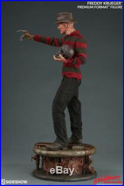 Nightmare on Elm Street Freddy Krueger Premium Format Statue Sideshow