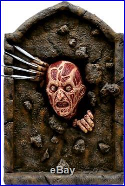 Nightmare on Elm Street Freddy Krueger Tombstone Halloween Party Decoration, New