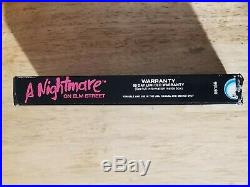 Nightmare on Elm Street NES Tested and Cleaned! COMPLETE