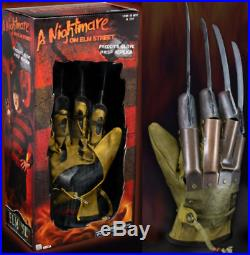 Nightmare on Elm Street Robert Englundl Freddy Krueger Glove Prop Rep 1984 Neca