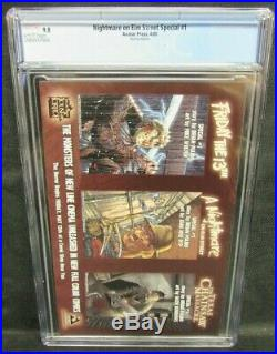 Nightmare on Elm Street Special #1 (2005) Red Foil Variant CGC 9.8 CW820