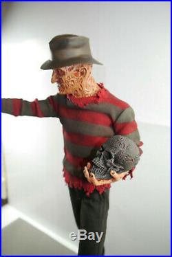 Nightmare on Elm Street Statue Freddy Krueger Sideshow 53cm mit Box ÜF