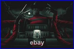Nightmare on Elm Street by Matt Ryan Tobin Screen Printed Movie Poster Mondo