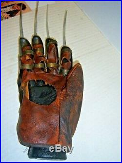 Nightmare on Elm Street cast Autographed Prop Replica Freddy Krueger Glove