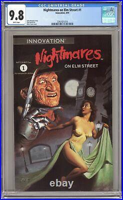 Nightmares on Elm Street #1 CGC 9.8 1991 3761921019