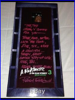 ROBERT ENGLUND SIGNED A Nightmare on Elm Street 3 Freddy Krueger 1/4 18 FIGURE