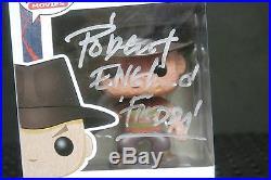 ROBERT ENGLUND Signed Funko Pop Freddy Krueger Figure Nightmare on Elm Street