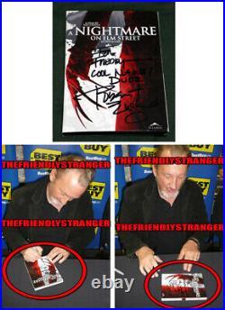 ROBERT ENGLUND signed A NIGHTMARE ON ELM STREET DVD Ex Proof FREDDY KRUEGER COA