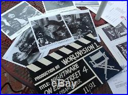 Rare 1991 A NIGHTMARE ON ELM STREET 4 IV The Dream Master Promo Kit Worldvision