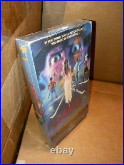 Rare VHS 1987 Nightmare On Elm Street 3 (Factory Sealed) Media Video Treasure
