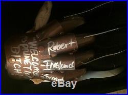 Robert Englund AUTOGRAPHED A Nightmare on Elm Street Freddy Krueger Glove PROOF