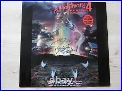 Robert Englund Autogramm signed LP-Cover A Nightmare On Elm Street 4 Vinyl