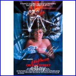 Robert Englund Autographed A Nightmare on Elm Street 27×40 Movie Poster