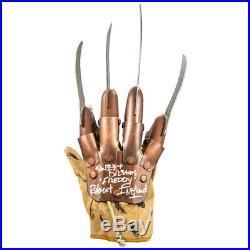 Robert Englund Autographed A Nightmare on Elm Street Freddy Krueger Glove