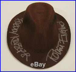 Robert Englund Freddy Krueger Autographed Nightmare Elm Street Fedora ASI Proof