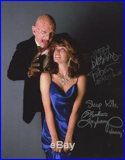 Robert Englund & Heather Langenkamp Signed Nightmare Elm Street 11x14 Photograph